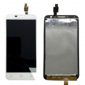 Alcatel Idol 2 Mini - Full Front LCD Digitizer White