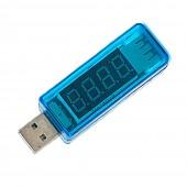 USB Charger Volt Current Tester Single color