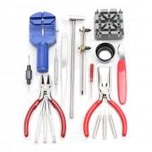 18Pcs Horologe Wrist Watch Repair Set Kit Case Opener Remover Strap Pin Repair Tools