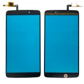 Alcatel One Touch Idol 3 (5.5) OT6045B/I/K/Y - Front Glass Digitizer Black
