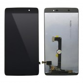 Alcatel One Touch Idol 4 6055 - Full Front LCD Digitizer Black