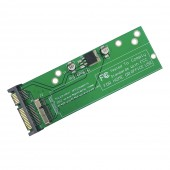 Apple MacBook Air A1465 A1466 2012 - SSD Convert to 3.5&quot SATA 22p 5V 3.3V Converter with Screws