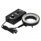 60 LED Adjustable Ring Light illuminator Lamp for STEREO ZOOM Microscope